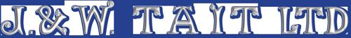 J & W Tait Logo